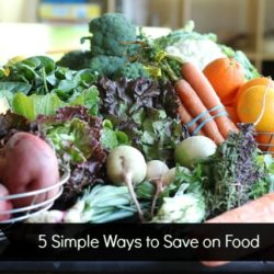 5 Simple Ways to Save on Food - Groceries are one of the biggest spending categories where you can save. You can