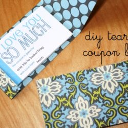 Make a Tear-Out Coupon Book for Valentine