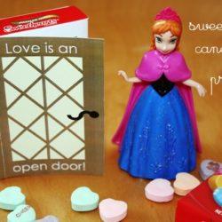 Make a Frozen Themed Valentine