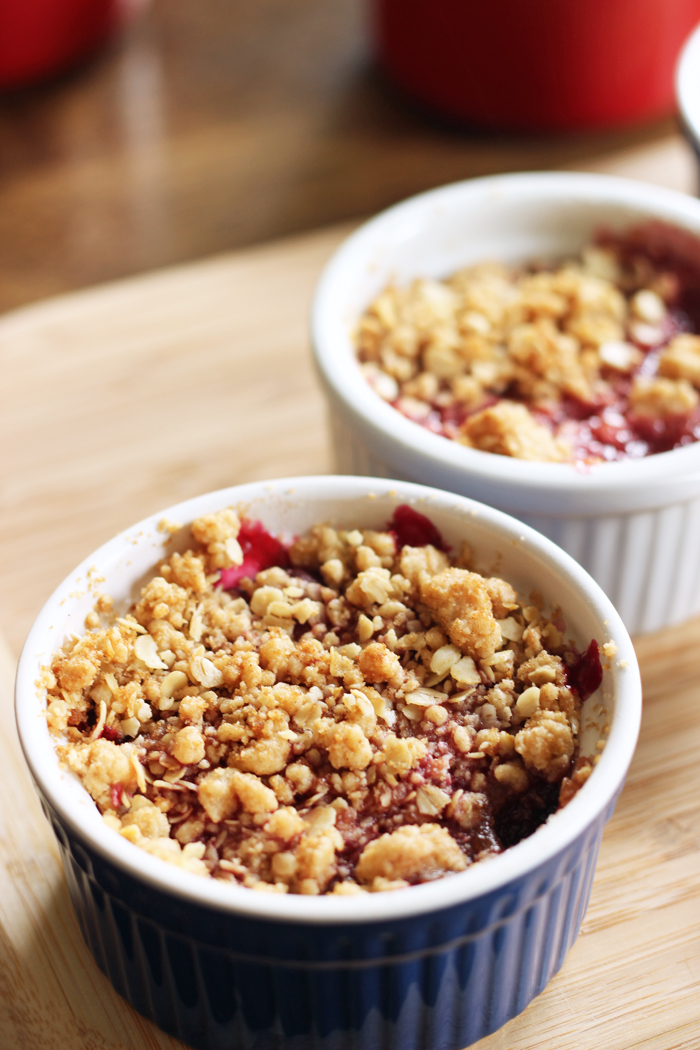 Personal Cherry Crumble LAM