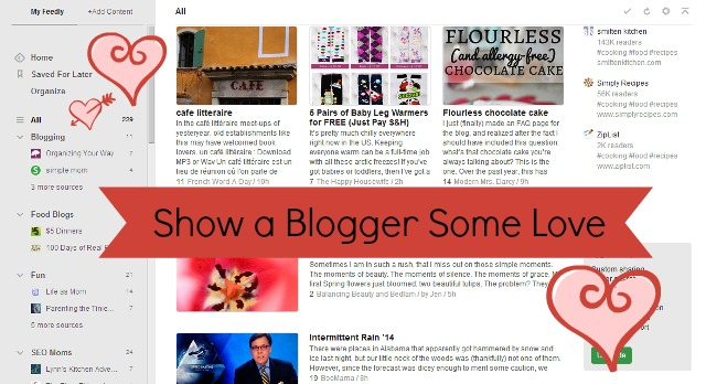 blogger some love