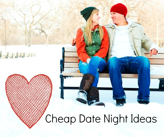 5 Cheap Date Night Ideas - ideas for spending time with your spouse without spending a lot of money.