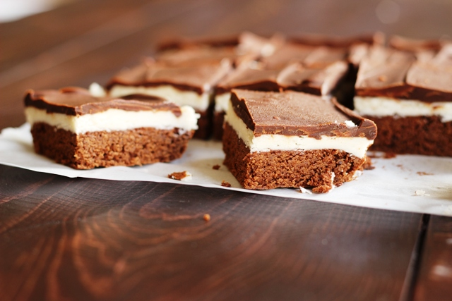 Chocolate Mint Bars - easy and delicious homemade treats to rival the bakery or candy store. Eat all you want, you can always make more.