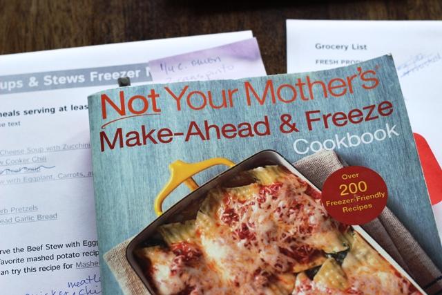 freezer cooking plan