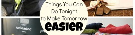 make tomorrow easier