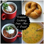 Freezer Cooking: Soups, Stews, and Bread - A few hours in the kitchen will provide you with bowls, and mugs, and cups full of soups and stews to enjoy throughout the month.