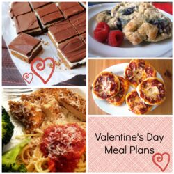 Valentine's Day Menu Plan to Print & Cook