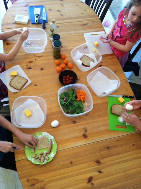 Playing a Game of Chopped for Kids - Want to give your children some practical kitchen skills and a sense of independence and accomplishment? Play a game of Chopped -- for kids.