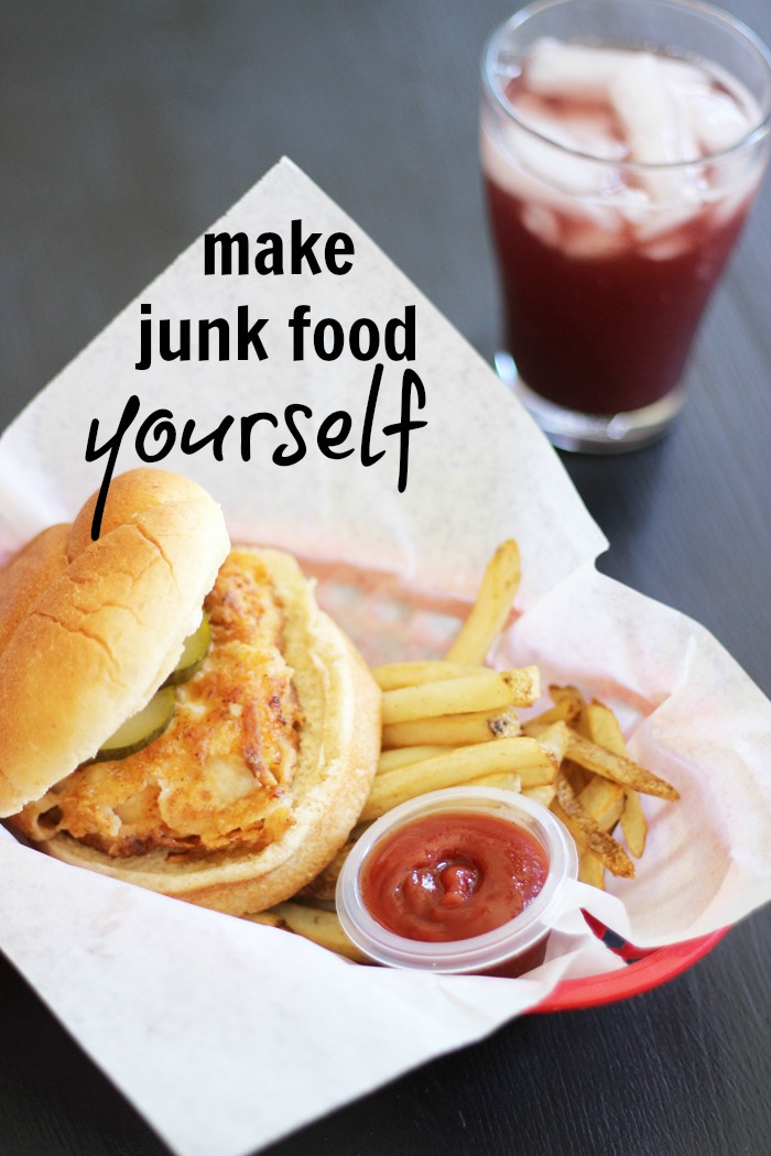 Make Junk Food Yourself | Life as Mom