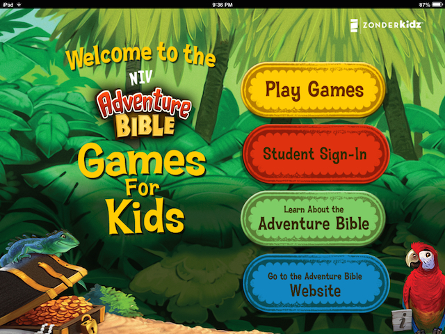 FREE Bible Games for Kids - Download a host of free Bible learning resources for free from Zondervan