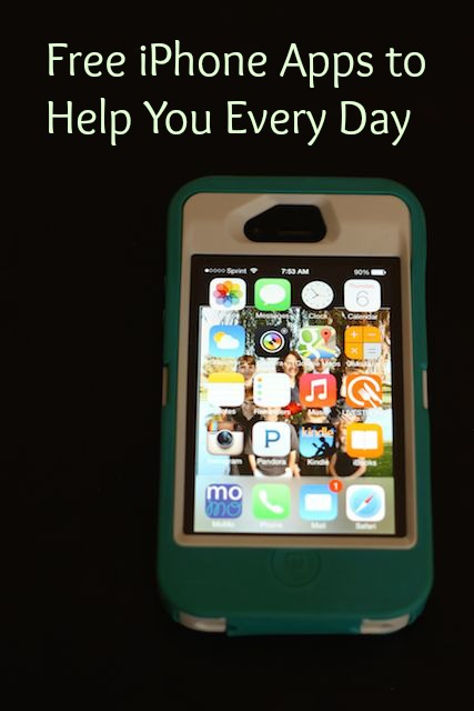 Free iPhone Apps to Help Your Every Day (Frugal Friday) - three simple apps you already have that can help you.