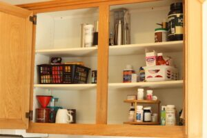 kitchen coffee cupboard