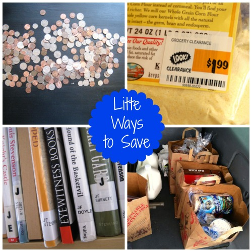 Little Ways to Save Money (Frugal Friday) - Little ways can save you big money eventually.