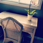 wicker paradise desk