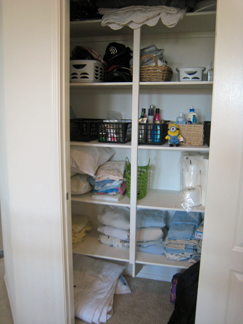 Zone Defense Check-in: The Laundry and Linen Cupboard - On Zone Defense in March, we organized the linen cupboard and laundry areas.