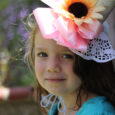 Girl in Flowered Hat