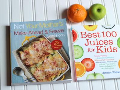Jessica Fisher Cookbooks to date