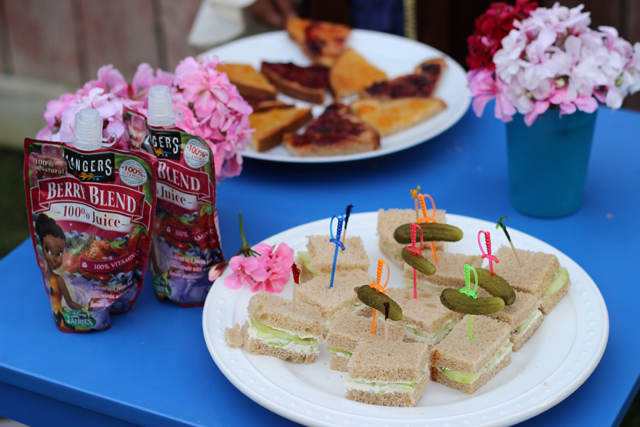 A Pirate Fairy Tea Party - Plan a tea party with your little girl. We used The Pirate Fairy as our inspiration.