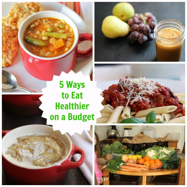 5 Ways to Eat Healthier on a Budget - Looking to improve your family's diet, but not sure how to pull it off on a budget? Consider these 5 ways to eat better and save some coin.