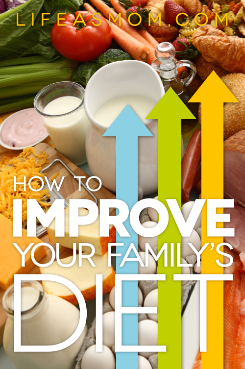 Improve Your Family's Diet in the New Year - Ring in the new year with some diet changes to help you and your whole family.
