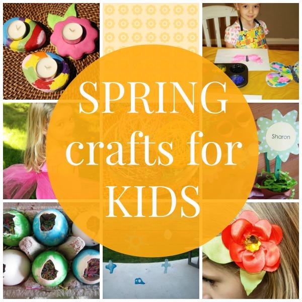 Spring Crafts For Kids Easy Crafts For Children