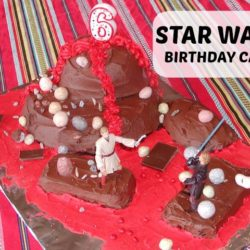 May the Force Be With You: Star Wars Cake - Long, long ago, in a galaxy far, far away, there was a birthday cake that every Jedi dreamed of.... In honor of Sunday, May the Fourth, here