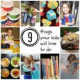 9 things your kids will love to do