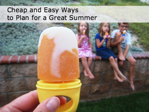 5 Cheap and Easy Ways to Get Ready for a Great Summer - Planning a great summer doesn't take a lot of money. Consider these ideas for frugal summer fun.