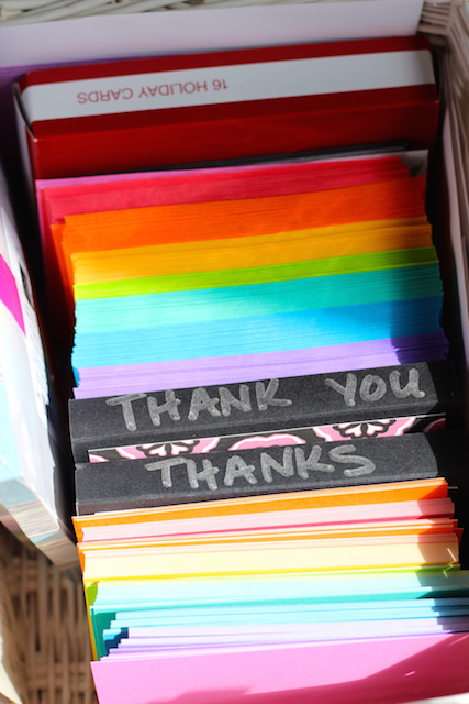 "A Guide to ""Thank You Note"" Writer's Block - Cat got your tongue when it comes to writing thank you notes? Here are some ideas to help you say thanks in a real and honest way."
