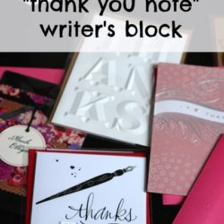 """A Guide to """"Thank You Note"""" Writer"""