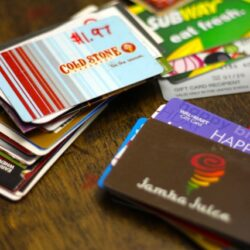 How to Use Up Those Gift Cards You've Been Stashing