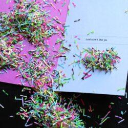 aunt cass confetti