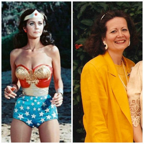 My Aunt Cass, Wonder Woman