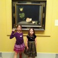 girls at museum