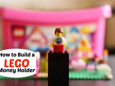 how to build a lego money holder