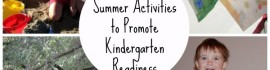 summer kindergarten readiness