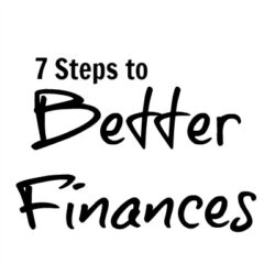 7 Steps to Better Finances