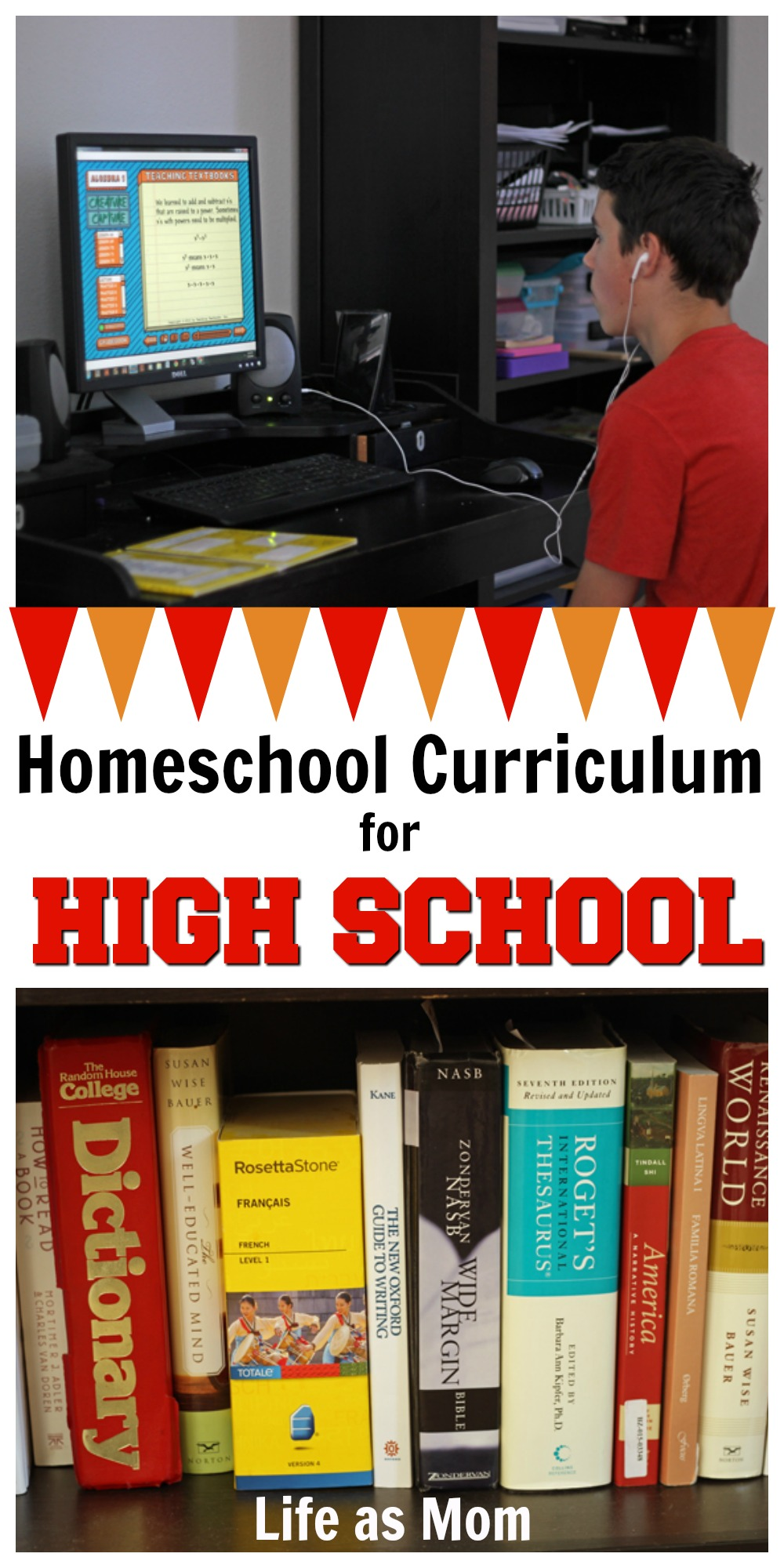 Homeschool Curriculum for High School | 9th and 12th grade