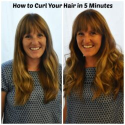 curl hair in five