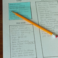 Post-it Note To Do List System – Planning that Works!