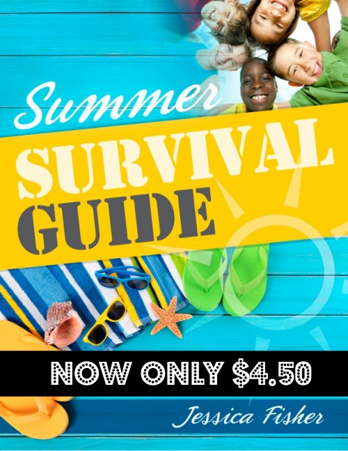 Summer is winding down. School is gearing up. To celebrate the end of summer, I'm offering my Summer Survival Guide at a 50% discount.