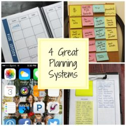 4 Planning Systems for the New School Year - Ready to get organized and ready for everything the new school year can dish out? Check out one of these 4 planning systems to help your life as mom.
