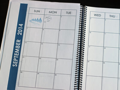 Build Your Own Personal Planner or Household Notebook