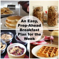 Make-Ahead Breakfast Meal Plan