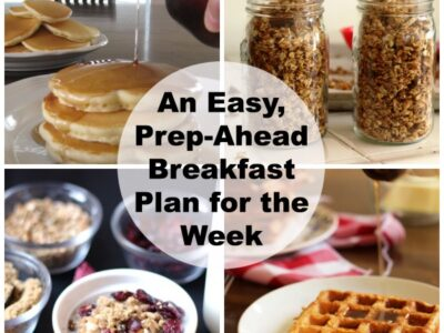 Make-Ahead Breakfast Meal Plan