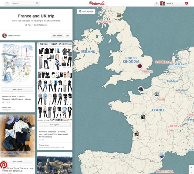 Use Pinterest for Planning Family Travel