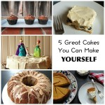 5 Great Cakes You Can Make Yourself - Cake baking isn