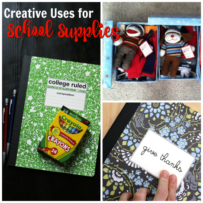 Creative Uses for School Supplies | Life as Mom