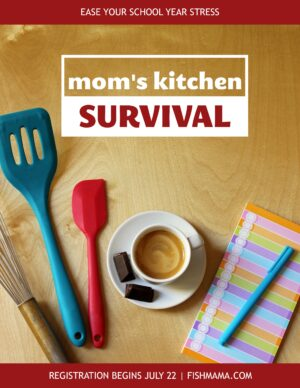 Mom\'s Kitchen Survival logo