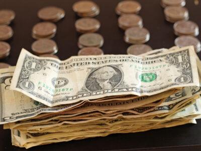 bills of money